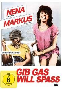Gib Gas, ich will Spass, DVD