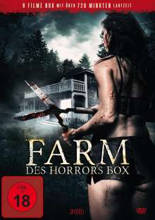 Farm des Horrors Box (9 Filme auf 3 DVDs), 3 DVDs
