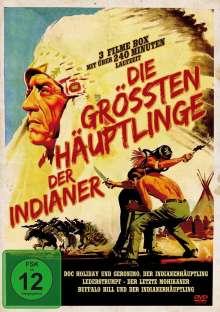 Die grössten Häuptlinge der Indianer - Western Edition (3 Filme), DVD