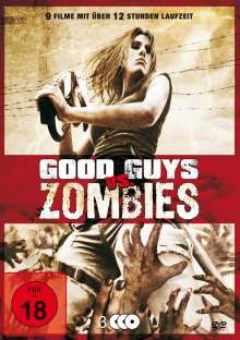 Good Guys vs. Zombies (9 Filme auf 3 DVDs), 3 DVDs