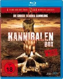 Kannibalen Box - Die grosse Slasher Sammlung (4 Filme auf 2 Blu-rays), 2 Blu-ray Discs