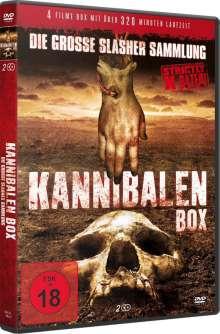 Kannibalen Box - Die grosse Slasher Sammlung (4 Filme auf 2 DVDs), 2 DVDs