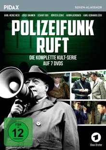 Polizeifunk ruft (Komplette Serie), 7 DVDs
