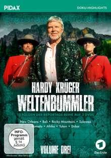 Hardy Krüger - Weltenbummler Vol. 3, 3 DVDs
