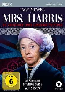 Mrs. Harris - Die Abenteuer einer Londoner Putzfrau (Komplette Serie), 6 DVDs