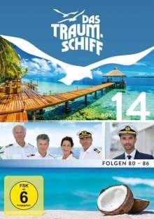 Das Traumschiff Box 14, 4 DVDs