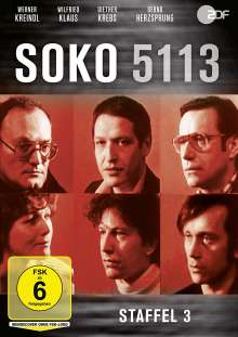 SOKO 5113 Staffel 3, DVD