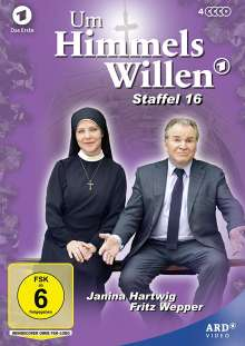 Um Himmels Willen Staffel 16, 4 DVDs