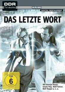 Das letzte Wort, DVD