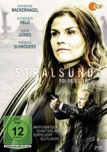 Stralsund Teil 13-16, 2 DVDs