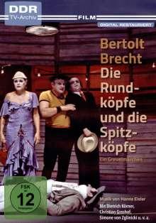 Die Rundköpfe und die Spitzköpfe, DVD