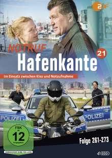 Notruf Hafenkante Vol. 21 (Folgen 261-273), 4 DVDs