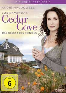 Cedar Cove (Komplette Serie), 10 DVDs
