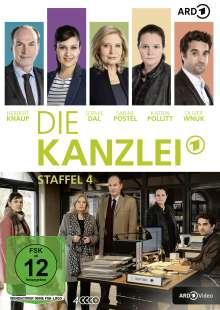 Die Kanzlei Staffel 4, 4 DVDs