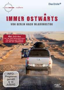 Immer Ostwärts - Von Berlin nach Wladiwostok, 4 DVDs