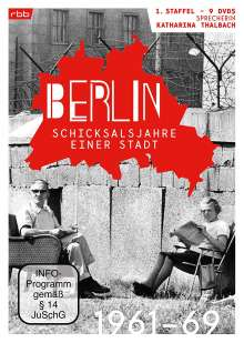 Berlin - Schicksalsjahre einer Stadt Staffel 1 (1961-1969), 9 DVDs