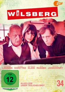 Wilsberg DVD 34: Alles Lüge / Unser tägliches Brot, DVD