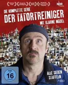 Der Tatortreiniger (Komplette Serie) (Blu-ray), 6 Blu-ray Discs und 1 DVD