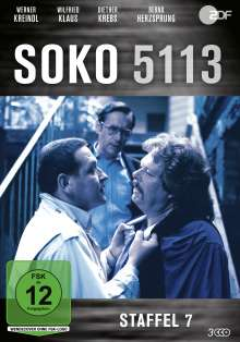 SOKO 5113 Staffel 7, 3 DVDs