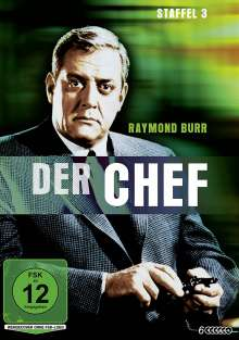 Der Chef Staffel 3, 6 DVDs