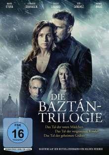 Die Baztán-Trilogie: Das Tal der toten Mädchen / Das Tal der vergessenen Kinder / Das Tal der geheimen Gräber, 3 DVDs