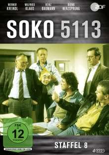 SOKO 5113 Staffel 8, 3 DVDs
