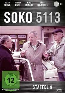 SOKO 5113 Staffel 9, 3 DVDs