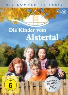 Die Kinder vom Alstertal (Komplette Serie), 8 DVDs