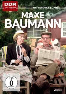 Maxe Baumann (Komplette Serie), 4 DVDs