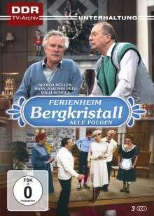 Ferienheim Bergkristall (Komplette Serie), 3 DVDs