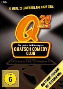20 Jahre Quatsch Comedy Club - Die große Jubiläumsgala, 2 DVDs