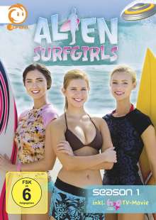 Alien Surfgirls Staffel 1, 4 DVDs