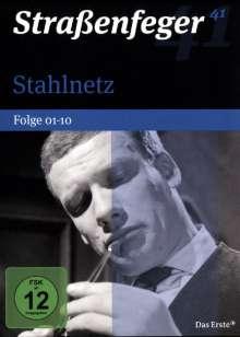 Straßenfeger Vol.41: Stahlnetz - Folge 1-10, 4 DVDs