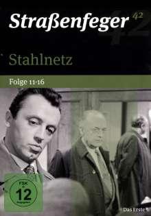 Straßenfeger Vol.42: Stahlnetz Folge 11-16, 4 DVDs