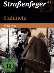 Straßenfeger Vol.43: Stahlnetz Folge 17-22, 4 DVDs