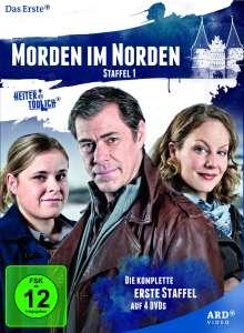 Morden im Norden Staffel 1, 4 DVDs