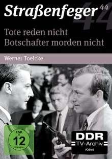 Straßenfeger Vol.44: Tote reden nicht / Botschafter morden nicht, 4 DVDs