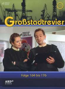 Großstadtrevier Box 11 (Staffel 16), 4 DVDs