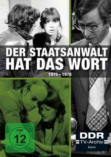 Der Staatsanwalt hat das Wort Box 3: 1975-1976, 3 DVDs