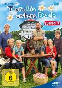 Tiere bis unters Dach Staffel 3, 2 DVDs