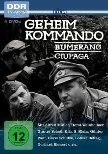 Geheimkommando Bumerang / Geheimkommando Ciupaga, 4 DVDs