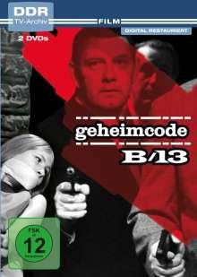 Geheimcode B 13, 2 DVDs