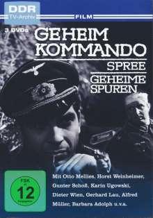Geheimkommando Spree / Geheime Spuren, 3 DVDs