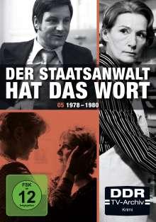 Der Staatsanwalt hat das Wort Box 5: 1978-1980, 4 DVDs
