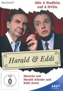 Harald und Eddi (Komplette Serie), 4 DVDs
