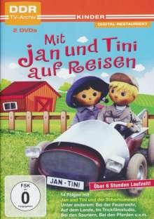 Jan und Tini auf Reisen, 2 DVDs