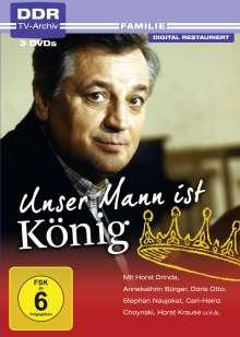 Unser Mann ist König, 3 DVDs