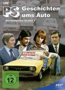 PS - Geschichten ums Auto Staffel 1, 4 DVDs