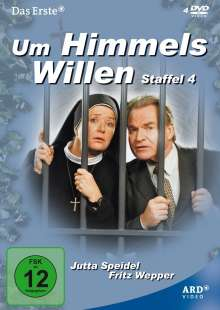 Um Himmels Willen Staffel 4, 4 DVDs