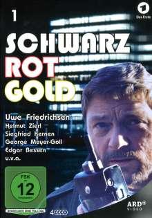 Schwarz Rot Gold Box 1 (Folge 1-6), 4 DVDs
